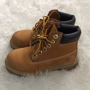 Timberland boots size 10 toddler